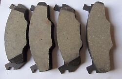 Vw Rabbit Jetta Quantum Thru 1984 Front Disc Brake Pad Set
