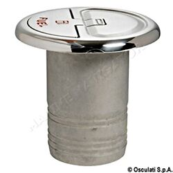 Osculati Quick Lock Fuel Deck Filler 50 Mm Without Key
