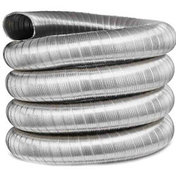Stove Flue Liner Life Time Warranty 316 Grade Stainless Steel Twin Wall Liner