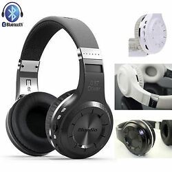 Bluedio V4.0 Handfree Stereo Bluetooth Headset Headphone For Samsung S8 7 6 5 4