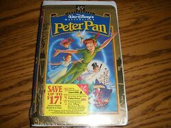 Factory Sealed Peter Pan 1998 45th Anniversary Limited Addition