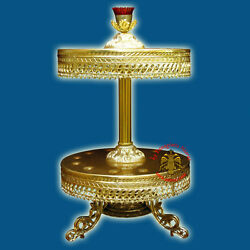 Orthodox Church Style Candle Holder. Aluminium Different Sizes Styles