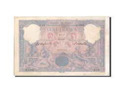 [209702] France 100 Francs 100 F 1888-1909 And039and039bleu Et Roseand039and039 1893 Km65b
