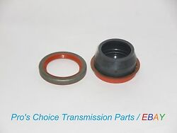 Front Pump And Rear Extension Housing Seal Kit--fits 1966 To 1996 C6 Transmissions