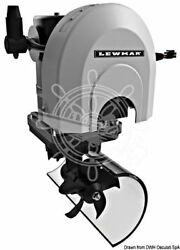 LEWMAR Marine Boat Bow Thruster Kit w Control PanelCableFuseTunnel 12V 2kW