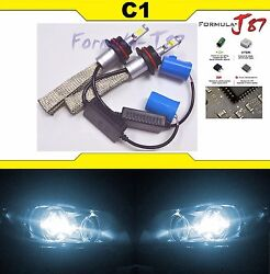 LED Kit C1 60W 9004 HB1 6000K WHITE HEAD LIGHT DUAL BEAM UPGRADE DIY COLOR
