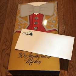 Mickey Mouse Tokyo Disney Resort 30th Limited Figure Medicom Toy Gold Ver. Rare