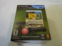 Ps3 Move Tiger Woods Pga Tour 12 Masters Camera And Controller Video Game Bundle