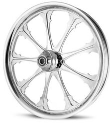 Dna Greed Chrome Forged Billet 21 X 3.25 Front Wheel Harley Dyna Sportster