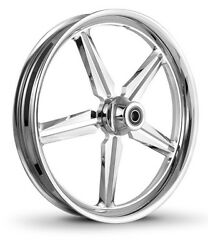 Dna Icon Chrome Forged Billet 21 X 2.15 Front Wheel Harley Softail Dyna
