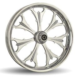 Dna Beast Chrome Forged Billet 16 X 3.5 Rear Harley Touring Wheel