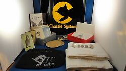 Vintage Chesapeake And Ohio Railroad Buttons Cards Pillowcases Notes Coasters