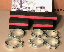 1928 1929 1930 1931 Model A Ford Radiator Hose Set With Clamps.