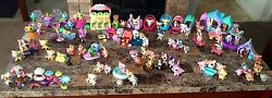 Littlest Pet Shop Large LPS Lot 177 Retired Animals Magnets Rares Dogs Cats