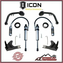 Icon S2 Secondary Shock System Stage 2 For 05-21 Toyota Tacoma 03-09 4runner