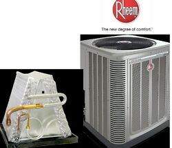 2 Ton R-410A 14SEER Mobile Home Condensing Unit  Evaporator Coil Combination