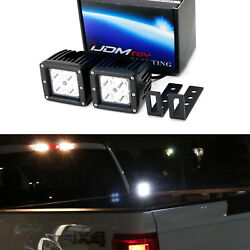 40w Led Backup Reverse Search Pod Lights For 15-up Ford F-150 17-up F-250 F-350