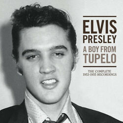 Elvis Presley - A Boy From Tupelo The Complete 1953-1955 Recordings [new Cd] Wi