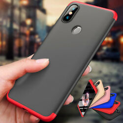 Shockproof 360° Full Hybrid Case Hard Cover For Xiaomi Redmi 5 6A Note 7 6 5 Pro