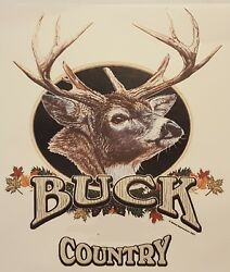 ALL AMERICAN OUTFITTERS DEER HUNTER BUCK COUNTRY HUNTING SHIRT #2433