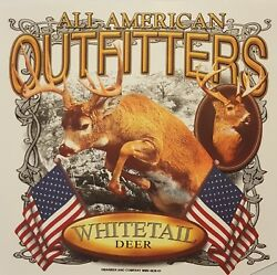 ALL AMERICAN OUTFITTERS WHITETAIL DEER HUNTER BUCK HUNTING SHIRT #1815