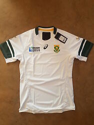 Springbok Rugby Player Issue Rugby World Cup Jersey 2015 Away Jersey