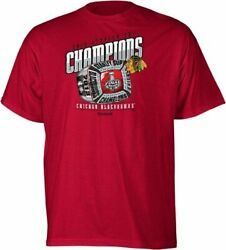 Chicago Blackhawks 2013 Stanley Cup Champs Champions Ring T-shirt New