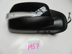 Black Electric Door Mirror With Indicator Right Hand 6 Pin For Holden Rodeo Ra