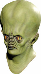 Andromeda Resurection Space Alien Full Over The Head Latex Mask Distortions