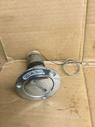 Stainless Steel Boat Marine Gas Deck Fill With Cap Ss Inv 5