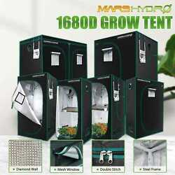 Mars Hydro Indoor Grow Tent Mylar Reflective Non-toxic Dark Room Box Green House