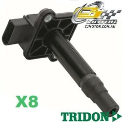 Tridon Ignition Coil X8 For Audi A6 Incl Rs6 01/99-10/04 V8 4.2l