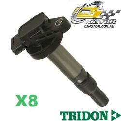 TRIDON IGNITION COIL x8 FOR Landrover  Discovery3 4.2(S/Charged) 05-09,V8,428PS