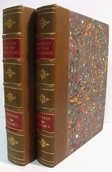 1794 History of the West Indies 2 Volumes Bryan Edwards Esq. 2nd Edition Illus.