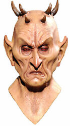 Keeper Of The Crypt Spikes Horned Demon Monster Latex Mask Distortions