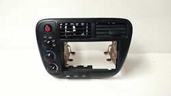 1999-00 OEM Factory Honda Civic Climate Control and Double Din Bezel