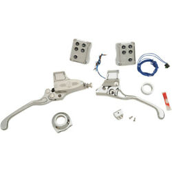 Performance Machine Pm Chrome 9/16 Handlebar Controls Cable Clutch Can Bus