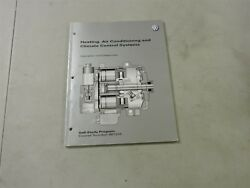 2000's VOLKSWAGEN VW HEATING AND AIR CONDITIONING CLIMATE SHOP SERVICE MANUAL