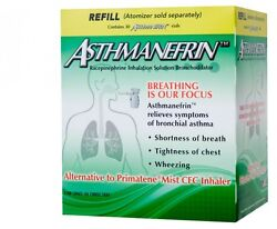 Asthmanefrin Asthma Medication Refill 30 Count Exp. Date 04/22 April 2022 New
