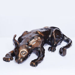 The Bronze Cat Sculpture By Author Mark Z. Danielewski - Limited Edition Of 27