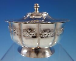 Aztec Rose By Sanborns Mexican Mexico Sterling Silver Candy Dish 1826