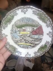7 Johnson Brothers China Friendly Village Made In England Bowls.