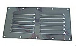 Stainless Steel Louver Vent Panel 116x232mm