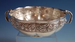 Aztec Rose By Sanborns Mexican Mexico Sterling Silver Bowl W/inscription 1791