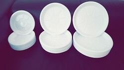 White Plastic Plates Disposable Party Tableware Bbq Catering 7 9 10 Hp New