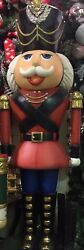 7' Christmas New Beautiful Nutcracker Toy Soldier