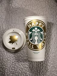 Happy Fall Yand039all Personalized Starbucks Cup Free Shipping And Quantity Discounts