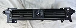 98-03 JAGUAR XJ8 CENTER DASH AC AIR VENT CLOCK OEM BEZEL
