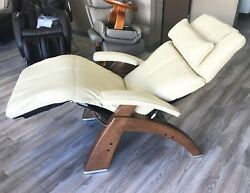 Human Touch Perfect Chair Pc-420 Classic Manual Plus Ivory Premium Leather