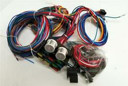 12 Circuit Wiring Harness Wire Kit Street Rod Hot Rod Universal Chevy Ford